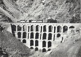 rail bridge multi arc